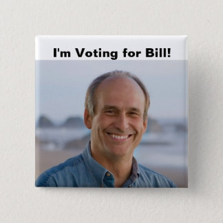 I'm Voting Bill button