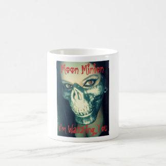 I'm watching you coffee cup classic white coffee mug