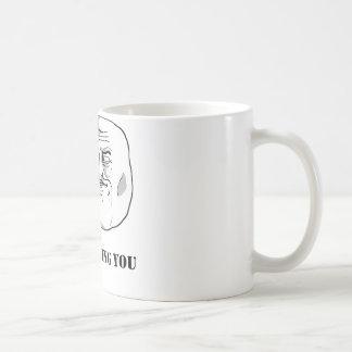 I'm watching you - meme coffee mug