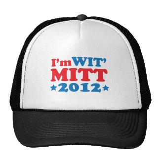 I'M WIT MITT TRUCKER HATS