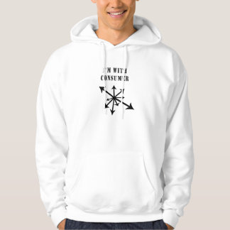 I'm With Consumer Hoodie