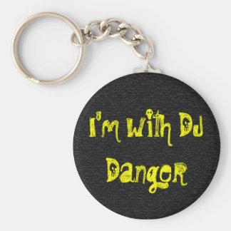 I'm with DJ Danger Keychain