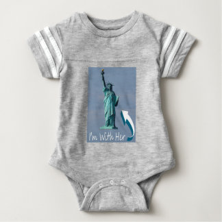 I'm With Her! Baby Bodysuit
