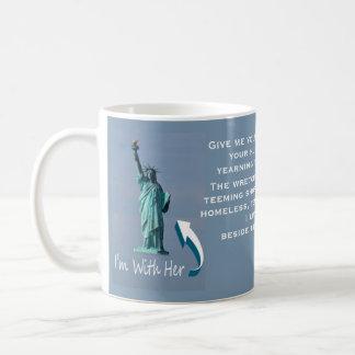 I'm With Her! Coffee Mug