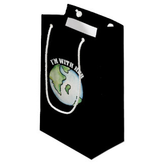 I'm with her earth day small gift bag
