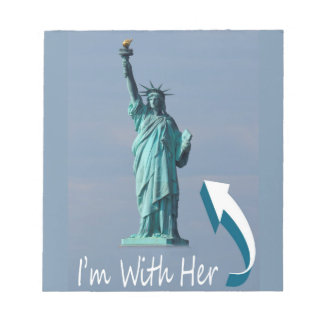 I'm With Her! Notepad