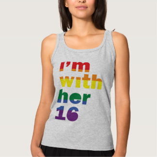 I'm With Her Pride Hillary for President Tank Top