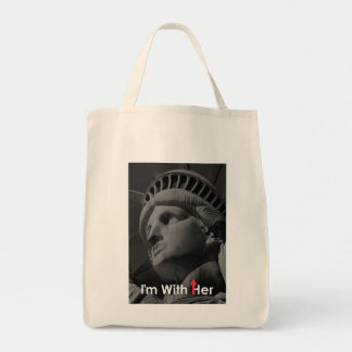 """I'm With Her"" Tote Bag"
