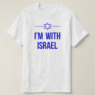 I'm With Israel T-shirt