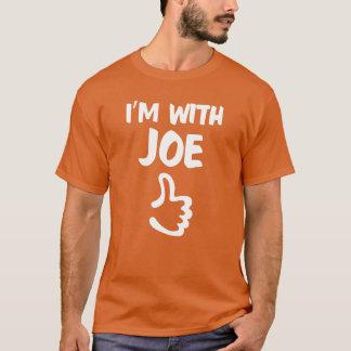 I'm With Joe shirt - Orange