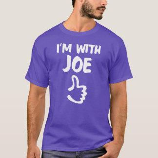 I'm With Joe shirt - Purple