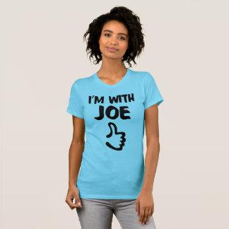 I'm With Joe Women's Fine Jersey T-Shirt - Aqua