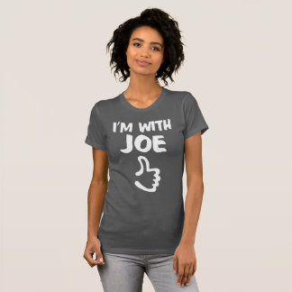 I'm With Joe Women's Fine Jersey T-Shirt - Asphalt