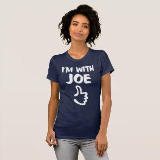 I'm With Joe Women's Fine Jersey T-Shirt - Navy