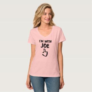 I'm with Joe Women's Nano V-Neck T-Shirt - Pink
