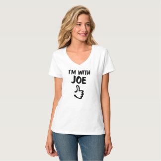 I'm with Joe Women's Nano V-Neck T-Shirt - White