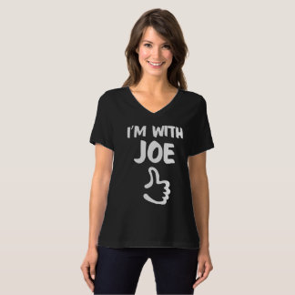 I'm with Joe Women's Relaxed Fit shirt - Black