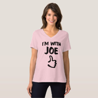 I'm with Joe Women's Relaxed Fit tshirt - Pink