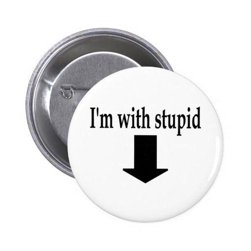 Im With Stupid 5 Pins