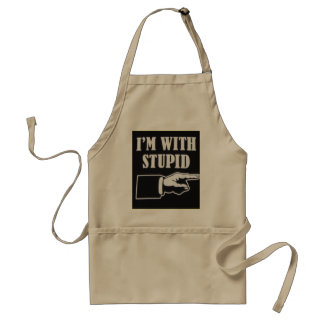im-with-stupid standard apron
