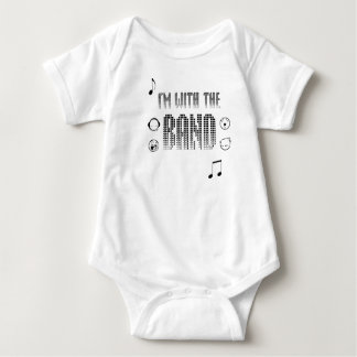 im with the band baby bodysuit