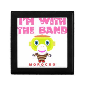 I'm With The Band-Cute Monkey-Morocko Gift Box
