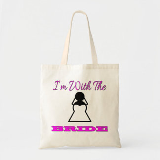 I'm With The Bride Tote Bag