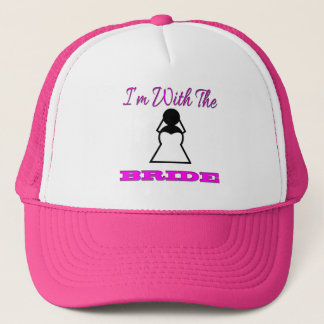 I'm With The Bride Trucker Hat