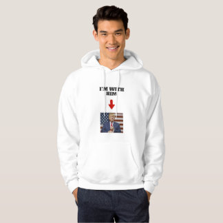 I'M WITH TRUMP HOODIE