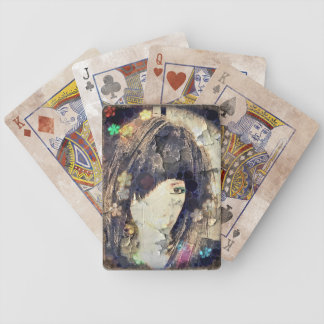 I'm with Wig Floral Bicycle Playing Cards