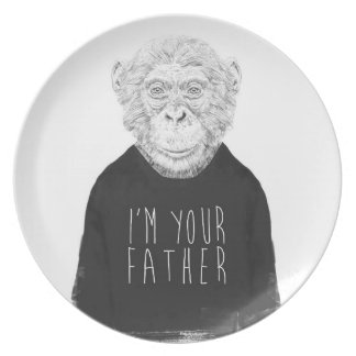 I'm your father plate