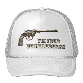 I'm Your Huckleberry Western Gun Trucker Hat