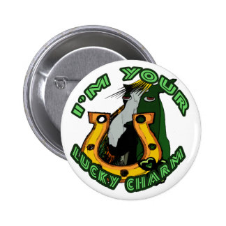 I'm Your Lucky Charm Gifts & Novelties 2 Inch Round Button
