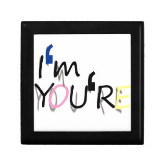 i'm you're design gift box