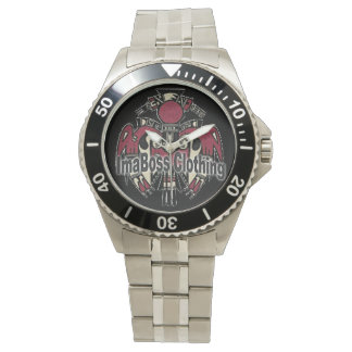 ImaBossClothing Brand Stainless Steel Bracelet Watches