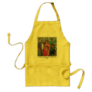 IMAGE124, Brothers and Sisters Are a Gift from ... Standard Apron