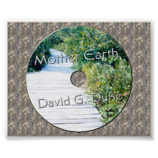 Image2, Mother earth Disk Lable Print