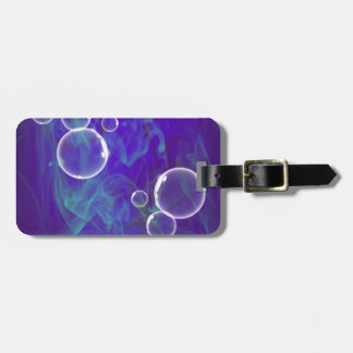 image Bubbles OF Blue Luggage Tag