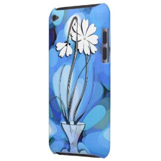 Image de fleurs bleue