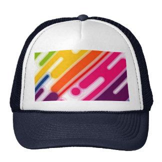 image éraflures coloriés casquette de camionneur