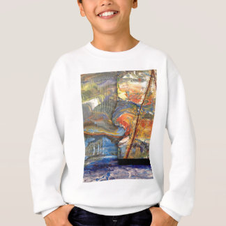 image in acrylic sweatshirt