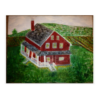 image.jpeg Dutch-American farmhouse Freeing Slaves Postcard