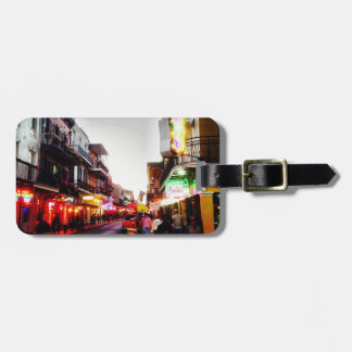 image.jpg New Orleans night life Luggage Tag