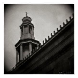 Image made Euston, London, using a Diana Camera Poster
