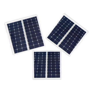 Image of a solar power panel funny acrylic tray