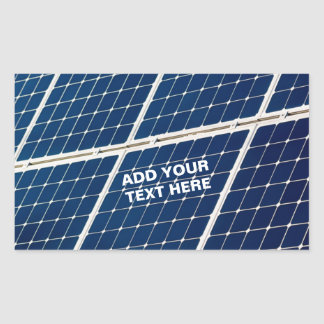 Image of a solar power panel funny sticker
