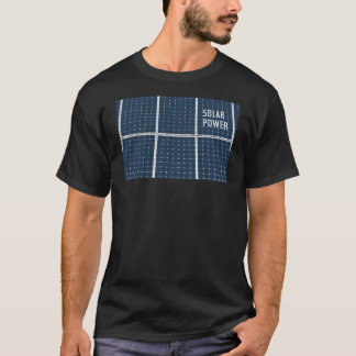 Image of a solar power panel funny T-Shirt