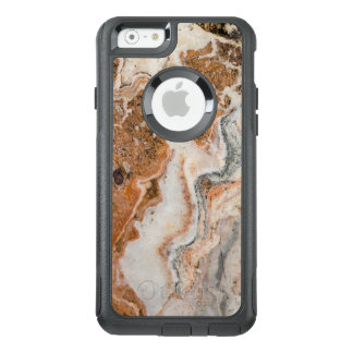 Image Of Brown & Beige Marble Stone OtterBox iPhone 6/6s Case