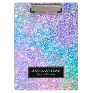 Image Of Colorful Glitter Clipboards