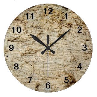 Image of Driftwood. Large Clock